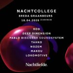 Nachtcollege Breda, 18 april 2020 (tot 06:00 uur)!